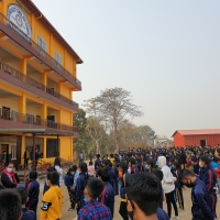 Clean, Beautiful and Peaceful school premises (School has its own high-tech and quake-resistant building in a very peaceful area)