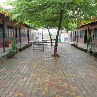 School premises are clean, plastic free and has green zone